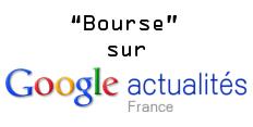 Bourse (Google News)