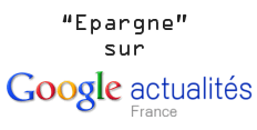 Epargne (Google News)